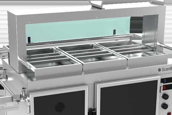 ScanBox Food2Go Countertop Slots