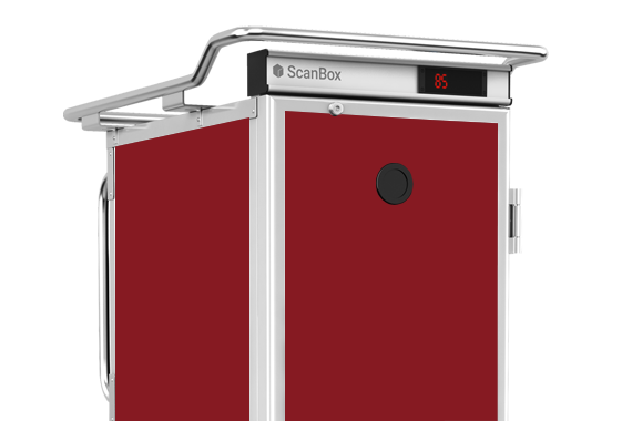 ScanBox –Box Color Red