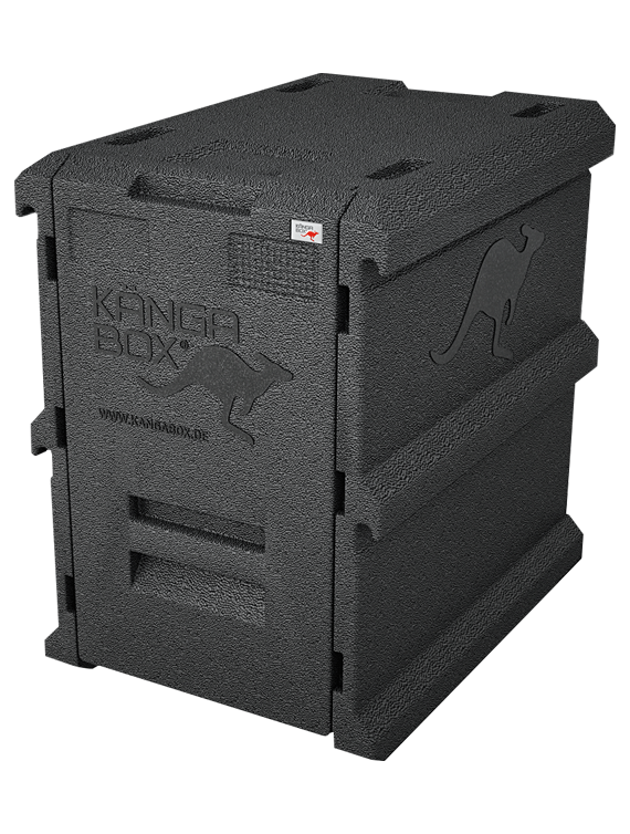ScanBox Kängabox Tower GN Black