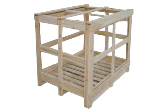 ScanBox Wooden Crate 950x600mm