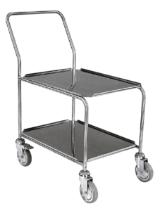 ScanBox Shelf Trolley 2-Levels – or Stackable Boxes