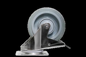 ScanBox Hjul 125mm Kromade