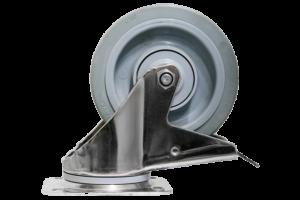 ScanBox Hjul 200mm Kromade