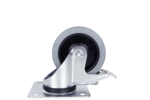 ScanBox 125mm Kromade Hjul