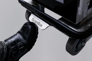 ScanBox Centralbroms 160mm Kromade Hjul