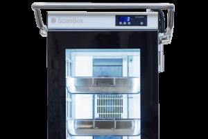 ScanBox Glasdörr med LED