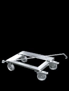 ScanBox Hjulvagnstralla –stapla boxer och förflytta dem smidigt
