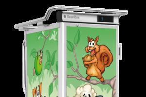 ScanBox Time-2-Eat – Helfolierad design för transportskåp och isolerade boxar